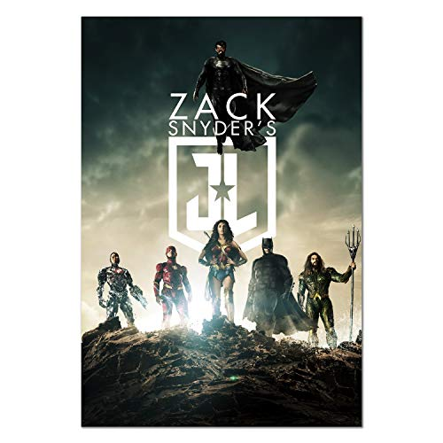 Justice League Snyder's Cut Movie Poster