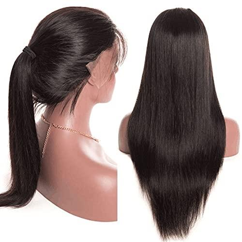 Vinte polegadas Frente de Alta Qualidade Lace Wigs de Seda coreana Wigs Straight Lace Wig