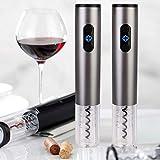 Apribottiglie - Strumento automatico elettrico per bottiglia di vino Barattolo di birra Apribottiglie Strumento cavatappi con lamina ricaricabile ricaricabile per casa, ristorante, festa e come regalo