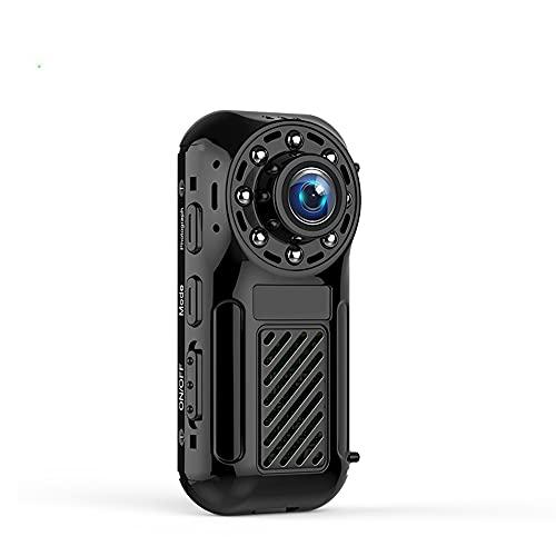 CHENPENG Mini cámara de Cuerpo 4K HD 1080P, videocámara de Bolsillo portátil con WiFi, con visión Nocturna activada por Movimiento, cámara de Seguridad pequeña para el hogar y la Oficina