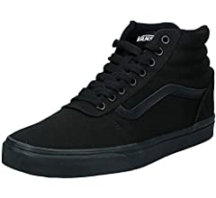 Vans Men's Hi-Top Trainers, Black Black