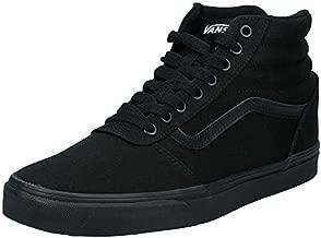 Vans Men's Hi-Top Trainers, Black Black 186, 9 UK