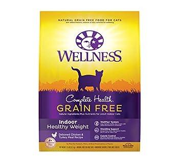 Wellness Complete Health Grain-Free Indoor Healthy Weight Chicken Recipe Dry Cat Food 11.5 Pound Bag