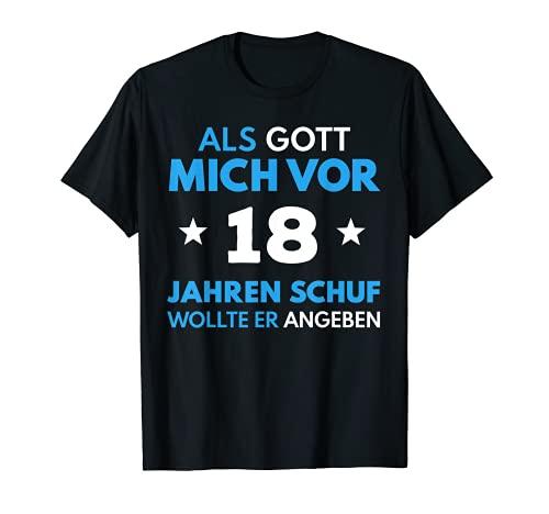 18. Geburtstag 18 Jahre Junge Mädchen Spruch Party Geschenk T-Shirt