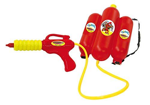 Jamara 460342 Pistola de Agua Con Mochila 2,5L, Rojo