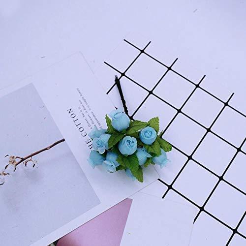 QVC Zijde rozen krans geschenken kunstbloemen voor decoratie Thuis bruiloft bruidsmeisje nep bloemen slinger