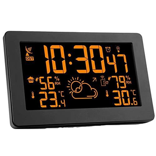 Estaciones meteorológicas con Sensor Interior al Aire Libre Relojes inalámbricos de monitoreo...