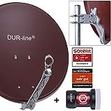 DUR-line Select 60/65 - Set de antenas parabólicas [LNB, multiconmutador]