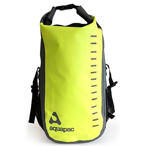 aquapac 791/792 Toccoa Daysacks デイサック完全防水アクアパックウォータープルーフケースのリュック (28L) 防水・防塵・防砂・防油・防汚 (グリーン×グレイ)