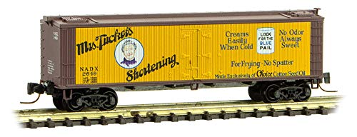 Micro-Trains MTL Z-Scale 40ft Wood Reefer Farm-to-Table #6 Mrs. Tucker's #2649