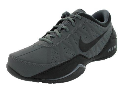 top 10 nike shoes for men Nike Airing Leader Men's Low Basketball Shoes, Dark Gray / Black, Size 10.5 M US