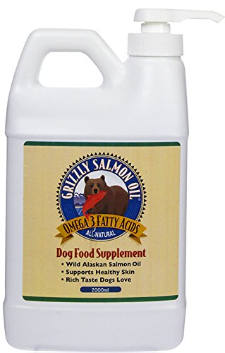 Grizzly Pure Wild Salmon Oil 2000ml