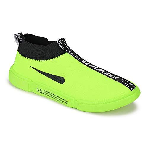 World Wear Footwear-9218 Green Exclusive Range of Sports Running Shoes for Men