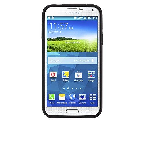 Case-Mate CM030958 Slim Tough Schutzhülle für Samsung Galaxy S5/S5 Neo schwarz/gold Designed for Samsung