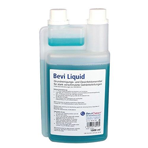 Gastrobedarf Westerbarkey 1l Reinigungsmittel Bevi Liquid für Bier und AFG Leitungen und Anlagen