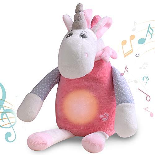 GRESATEK Ayuda para Dormir para Bebé Juguetes Musicales con 10 Sonidos Relajantes