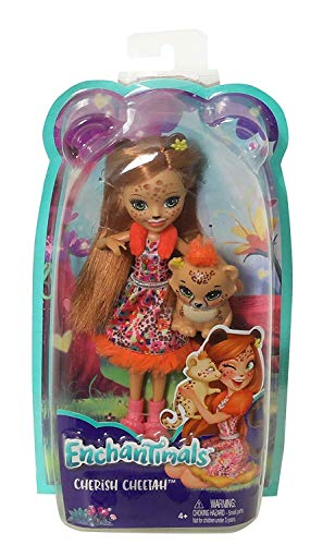 Enchantimals - Muñeca Cheris Cheetah - muñeca - (Mattel FJ