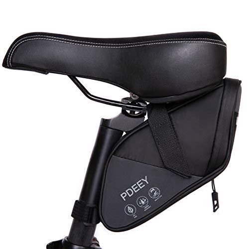 PDEEY Fahrrad Satteltasche, Bike Saddle Mountainbike Sattel Fahrradtasche Wasserdicht, Fahrrad Rahmentasche Gepäckträger Rennrad Tasche, MTB Fahrrad Zubehör Fahrradkoffer