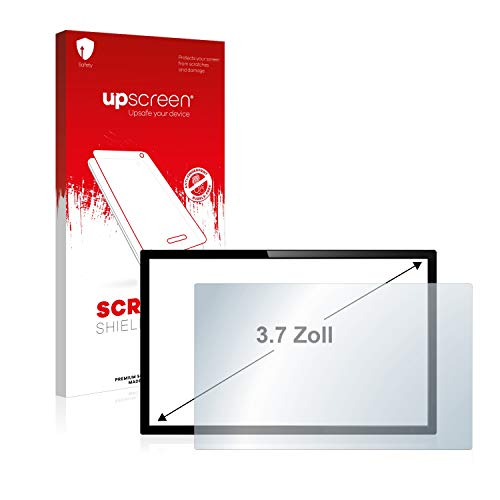 upscreen Schutzfolie für 3.7 Zoll Kameras (57 x 75 mm, 4:3) – Kristallklar, Kratzschutz, Anti-Fingerprint
