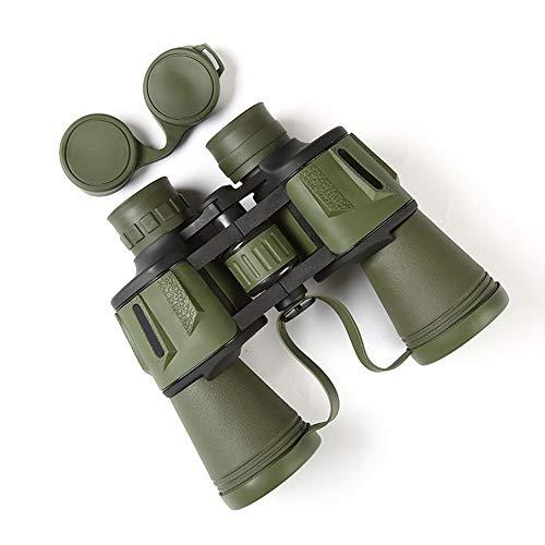 20x50 Militaire Verrekijker Compact HD Professionele Dagelijkse Waterdichte Verrekijker Telescoop Hoge Vermogen voor Volwassenen Vogels Kijken Reizen Jacht Voetbal-BAK4 Prism FMC Lens met Case en Band