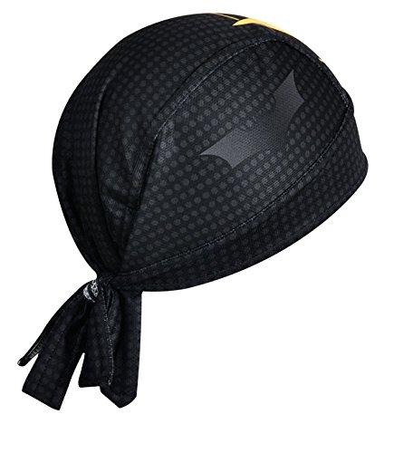 ShopINess Bandana Cap Kopftuch Radfahrer Bikertuch Bat Style - 2