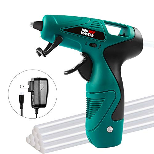 Cordless Hot Glue Gun, Rapid Heating UL Certified Glue Gun Kit with Premium Glue Stick, NEU MASTER USB Recharging Hot Melt Glue Gun for DIY Project, Crafts Making, Gift Decorations & Daily Repairs