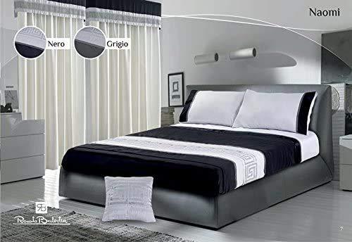 il dolce stile della tua casa Renato Balestra - Edredón Naomi de invierno, 300 gramos, incluye 2 almohadas a juego