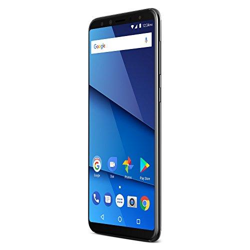 BLU Pure View Smartphone ohne SIM-Karte, Schwarz
