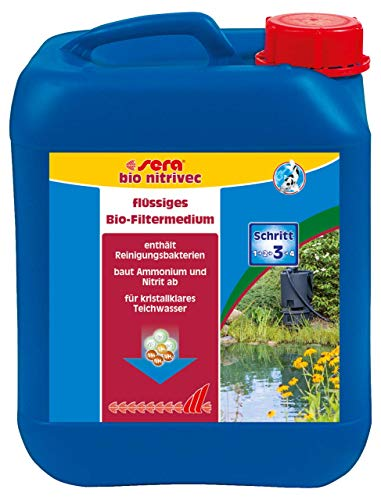 Sera Pond Bio nitrivec–El Filtro Líquido Medium de la Clase Ext