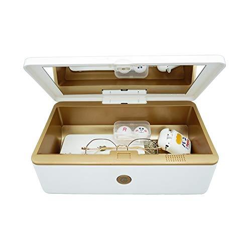 Rescare Portable UV Sanitizer Box, Professional for Salon,Cell Phone,Baby,Beauty Tools,Underwear, Nail Salon Equipment,Eyeglasses