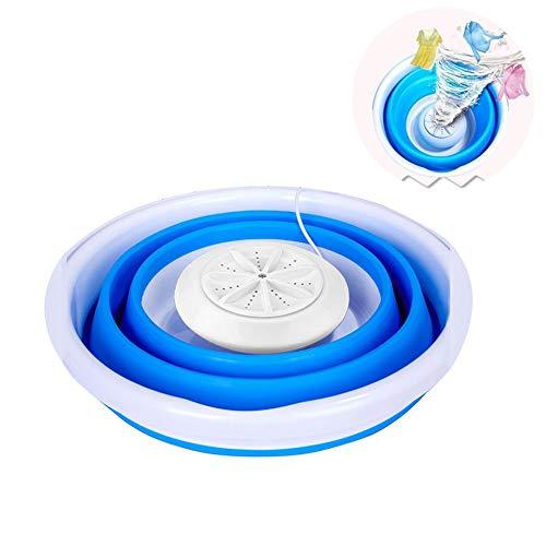 HUIGE Klappbare Mini-Waschmaschine Ultraschall Turbo Automatisch Elektrische Walze Mobile Waschmaschinen Schnell Reinigen Waschwerkzeug Für Schlafsäle Im Freien