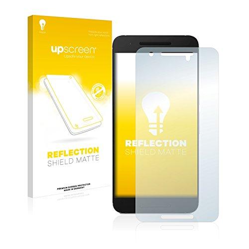 upscreen Entspiegelungs-Schutzfolie kompatibel mit Huawei Nexus 6P – Anti-Reflex Bildschirmschutz-Folie Matt