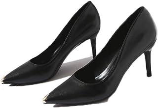 [KYUNEKY12] パンプス ラウンドトゥ ヒール6cm 足囲3E PUレザー レザーレディースシューズ2019春新 ビジネス オフィス 靴 ヒール6cm シューズ ハイヒール 本革 ソフト 上品 黒