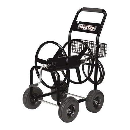 Ironton Garden Hose Reel Cart - Holds 5/8in. x 300ft. Hose