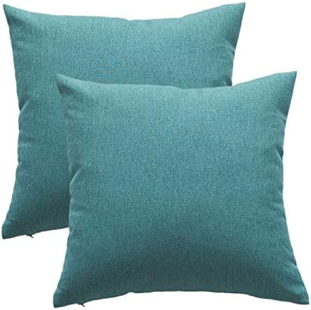 Outdoor Throw Pillow Covers Waterproof Farmhouse Decor Pillowcases Water Repellent Garden Cushion product image
