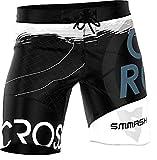 SMMASH Classic Pantalones Crossfit Cortos Hombre Deporte, Shorts Deportivos Hombre para Entrenamiento, Gimnasio, Jogging, Material Transpirable y Antibacteriano, (L)