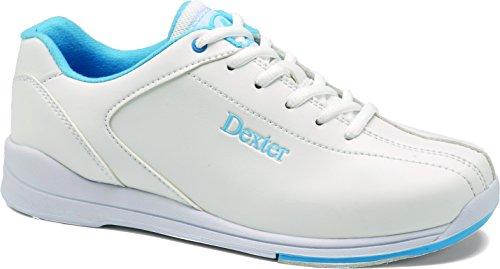 DEXTER Damen IV Bowlingschuhe Raquel, Damen, weiß/blau, 7.5