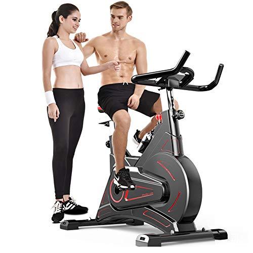 UNKB Ndoor Bicicletta del Ciclo Commerciale a Basso Rumore Magnetico di Perdita di Controllo del Peso Fitness in Bicicletta, Scuola Cicli Aerobica Formazione Fitness Cardio Bike