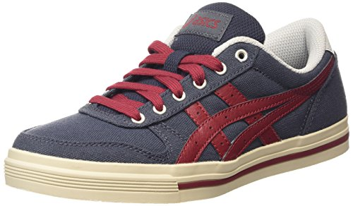 Asics Aaron, Herren Low-top, Multicolor (Indian Ink/Burgundy), 42 EU