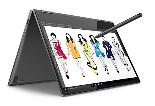 "Lenovo YOGA 730-13IWL Ordinateur Portable Tactile 13"" (Intel Core i7, 8 Go de RAM, SSD 512 Go, Windows 10)+ Stylet"