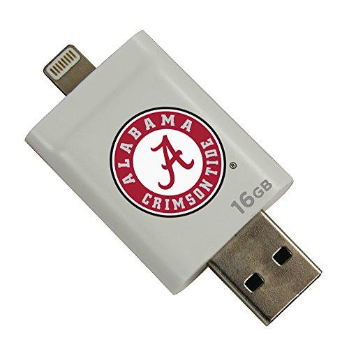 Alabama Crimson Tide i-FlashDrive HD USB Drive 16GB - White
