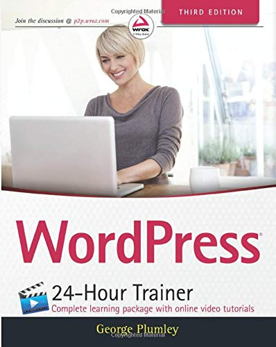 WordPress 24-Hour Trainer, 3rd Edition (Paperback)