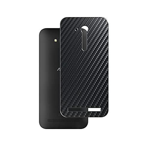 Vaxson 2 Stück Rückseite Schutzfolie, kompatibel mit Asus ZenFone Go TV ZB551KL, Schwarz Backcover Skin Cover Haut [nicht Bildschirmschutzfolie Hülle Hülle ]