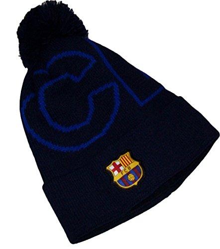 Fc Barcelone Bonnet Pompon Barça - Collection Officielle tai