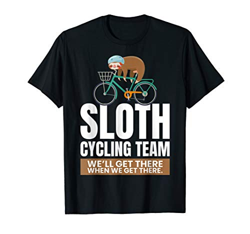 Fahrrad Bekleidung Trikot Faultier Mountainbike Sloth T-Shirt