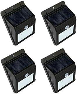 Solar motion light,one set of 4 pcs,night sensor light