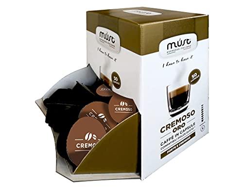50 Capsule Caffè Autoprotette in Plastica 100% Riciclabile