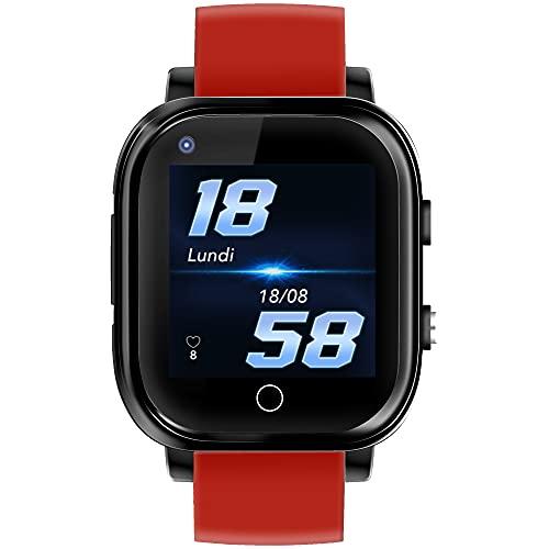 Infinite Watch iKids - Reloj inteligente para niños, 4 G, GPS preciso y termómetro integrado,