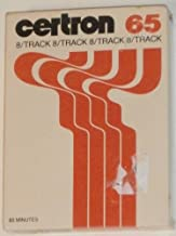 Certron 65 minute 8-Track Tape: Blank