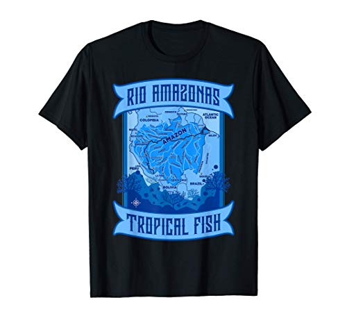 Amazonas Aquarium Aquaristik Zierfisch Aquarianer Geschenk T-Shirt